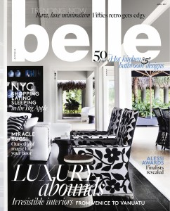 Cover Belle April 2017