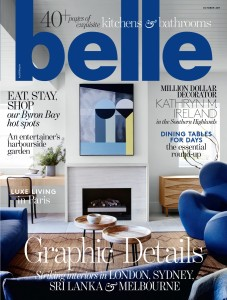 Belle October 2017, Cover - JHJ